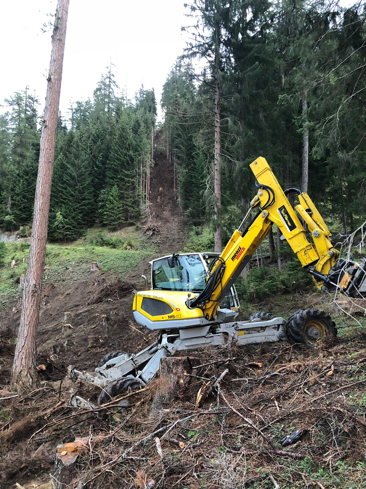 Holzschlagräumung