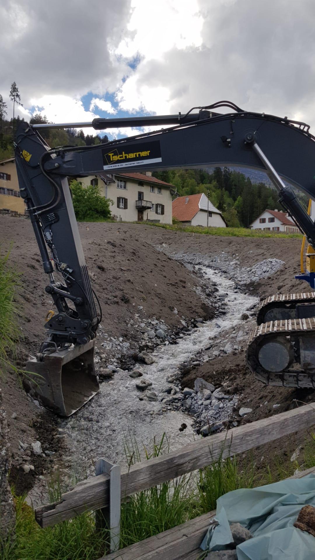 Umleitung Kettbach Cazis