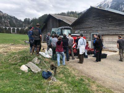 Kverneland Sämaschine, Alvaneu Bad