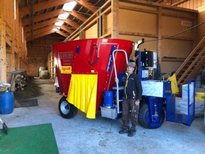 Siloking Futtermischwagen, Salouf