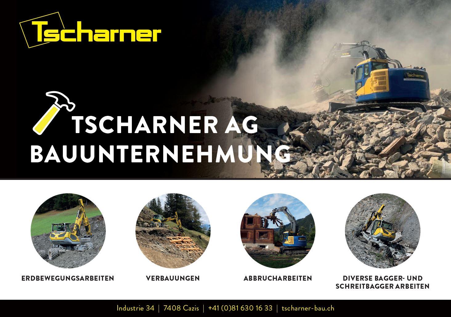 Tscharner AG, Bauunternehmung